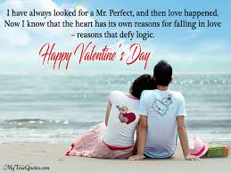 Beautiful Valentine Quotes For Boyfriend Best Of Valentines Day Love Quotes For Herhim Husbandwife First