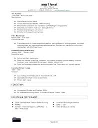 tradesman resumes free tradesman resume template plumber voipersracing co