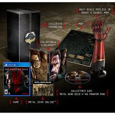 Metal Gear Solid V The Phantom Pain Collector S Edition Metal Gear Solid V Phantom Pain Collectors Edition Xbox One
