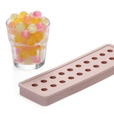 renjia round ice molds silicone ice cube tray round silicone round shape ice tray