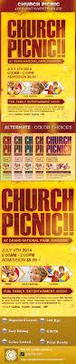 church word picnic flyer templates com graphicriver church picnic flyer template 5020544