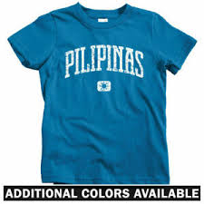 Details About Pilipinas Philippines Kids T Shirt Baby Toddler Youth Tee Pinoy Filipino Mnl