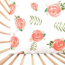 vintage fl crib sheets lotus flower crib bedding vintage fl baby fl crib sheets home ideas vintage fl crib