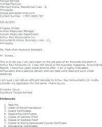 Accounting Assistant Cover Letter Sample Accounting Cover Letter ...
