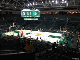 Watsco Center Seating Chart Basketball Watsco Section 121 Rateyourseats Com