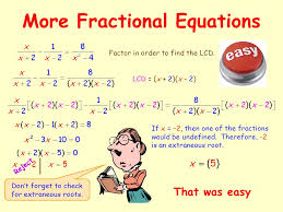 4 fractional equations