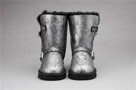Ugg Fashion Classic Short Dylyn 1001202 Silver Boots For Women