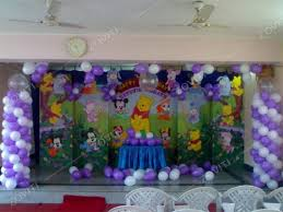 balloon decoration ideas for 1st birthday party at home