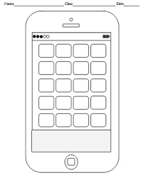 template phone blank cell phone templates 4 templates