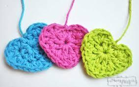 Heart Crochet Pattern Stunning Simple Crochet Heart Free Crochet Pattern My Merry Messy Life