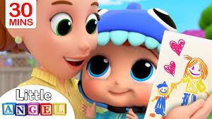 <b>Mommy</b>, <b>Mommy</b> I Love You | Little Angel Kids Songs & Nursery ...