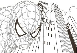 Small Picture Printable Spiderman Coloring Pages For Kids Games adult