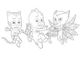 Pj Masks To Print Pj Masks Kids Coloring Pages