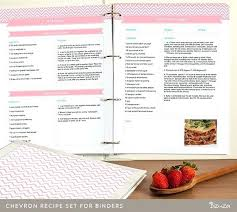 diy recipe book template free printable templates
