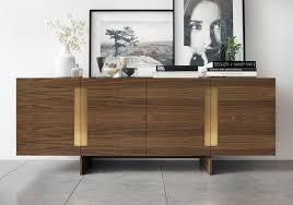 modern side board furniture corner buffet hutch with modern