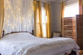 bedroom curtains behind bed. A Simple Design Solution For Bedroom. Add Curtains Behind The Bed. Bedroom Bed T