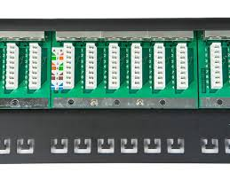 spacesaver 19& 34; half u shielded cat6 patch panel, 24 ports patch panel termination diagram at Cat6 Patch Panel Wiring Diagram
