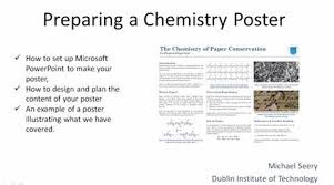 student posters on chemistry topics ideas education in chemistry one of the nice ways of getting students to think about chemistry especially at introductory levels is to have them present on something topical that can