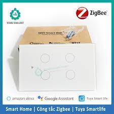 Bảo Hành 6 tháng] Công tắc thông minh ZIGBEE Tuya SmartLife 1-2-3-4 nút cảm  ứng giá cạnh tranh