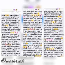 Messages Like This Mean Everything To Me I Swear Woahriah