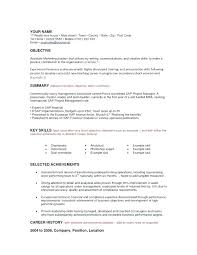 Examples Of Career Goals For Resume Marketing Resume Objectives Beauteous Career Goal Statement