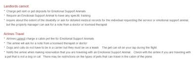 Differences Between Service And Support Animals