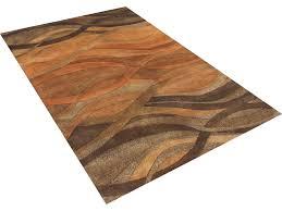 alliyah rugs anam rectangular caramel area rug