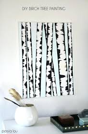 wall trees birch tree art make your own wall art with this super easy step wall tree decals canada on birch branch wall art with wall trees birch tree art make your own wall art with this super