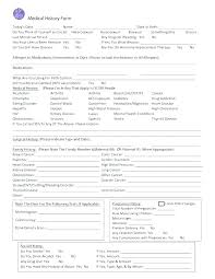 Request For Medical Records Form Template Free Medical Release Form Template