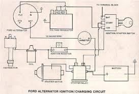 ford alternator w external regulator ? the h a m b Ford Alternator Wiring Diagram External Regulator Ford Alternator Wiring Diagram External Regulator #3 ford alternator wiring diagram internal regulator
