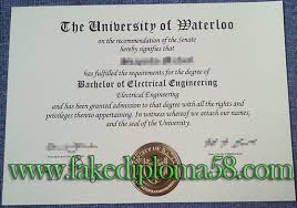 Uw University Of Degree fakediploma58 Bachelor Degree Waterloo Buy