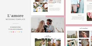 Wedding Website Template Inspiration HTML Wedding Website Templates From ThemeForest