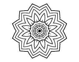 Disegno Di Mandala Fiori De Girasole Da Colorare Acolorecom
