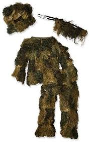 Ghillie Suit Size Chart Red Rock Outdoor Gear Mens Youth Ghillie Suit Woodland