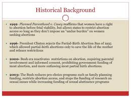 Partial Birth Abortion Plan Ppt Reproductive Rights Abortion Powerpoint Presentation Id 1601017