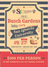 field trip to busch gardens