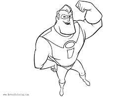 Mr Incredible Coloring Pages Incredible Coloring Pages For Kids By