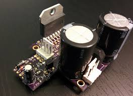 mini stic hifi bi amplified speaker system i added a protector circuit at 40w for the woofer and 20w for the tweeter the amp is muted for 1 second