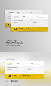 Freepiker Corporate Business Money Receipt