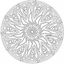 Small Picture complex mandala Colouring Pages page 2 Celtic Mandala Coloring
