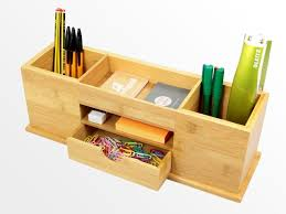 desk tidy. Fine Tidy Bamboo Stationery Orgasiner Throughout Desk Tidy N