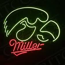 Miller Display Light Details About Eagle Miller Nightclub Garage Vintage Pub Display Neon Sign Light Beer Bar
