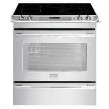 Professional Electric Ranges For The Home Shop Frigidaire Professional Smooth Surface 5 Element Self