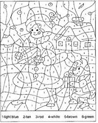 Small Picture Color By Number Coloring Pages For Kids 331 Color by Number for