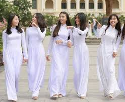 Image result for áo dài nữ sinh