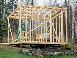 Flat Roof Shed Building Plans