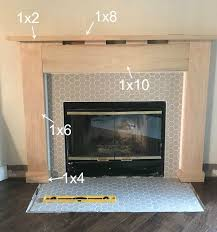 how to build fireplace mantels and surrounds fireplace diy drab to fab fireplace makeover