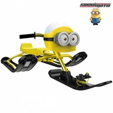 <b>Снегокат Snow Moto MINION</b> Despicable ME yellow