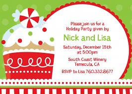 Images Of Christmas Invitations Christmas Cupcake Christmas Invitations