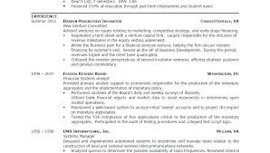 Student Resume Examples – Hflser